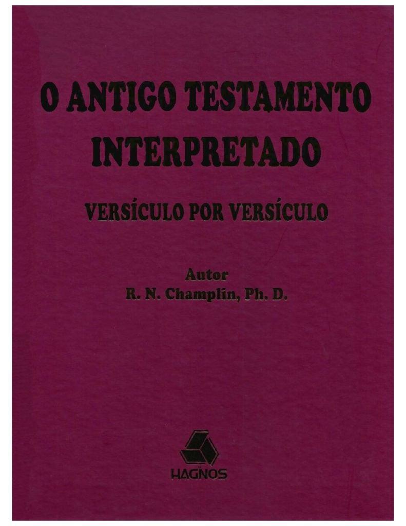 antigo testamento interpretado versículo por versículo