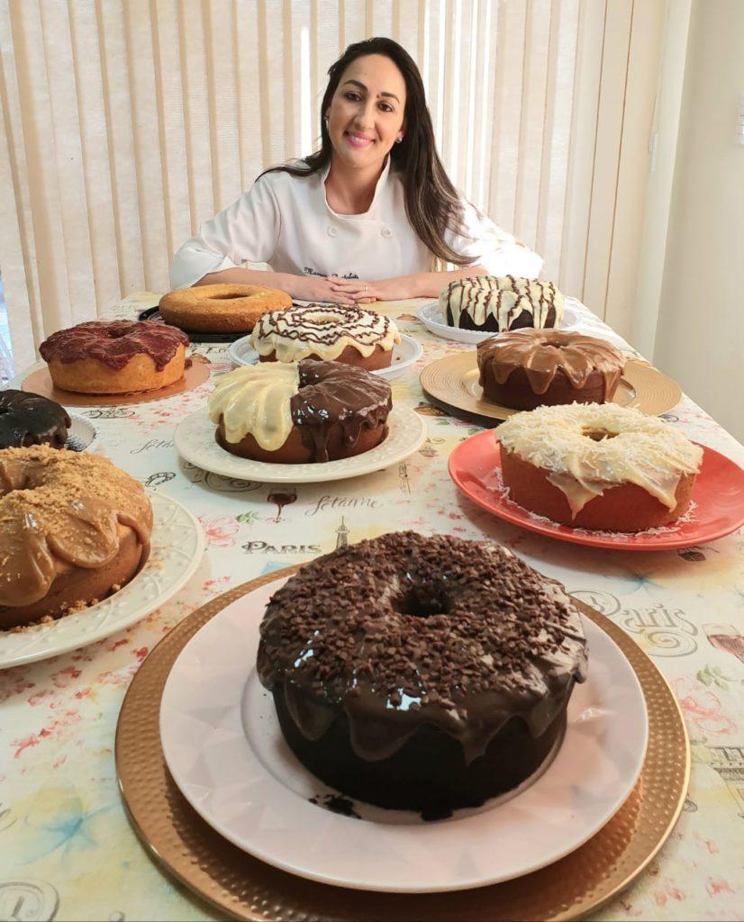 aprenda receitas de bolos