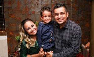 bruna karla faz revelação em aniversário do filho