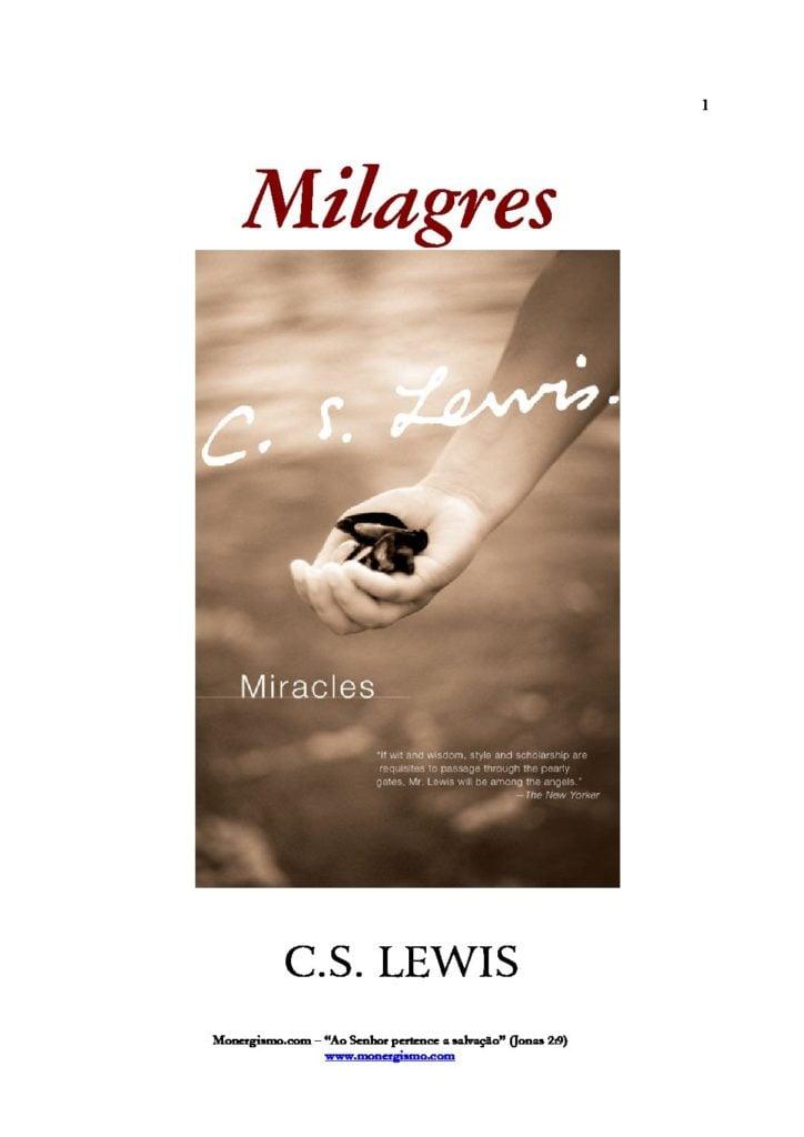 C S lewis milagres