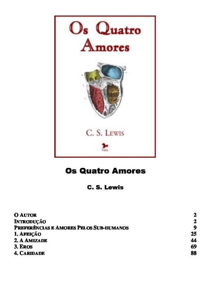os quatro amores