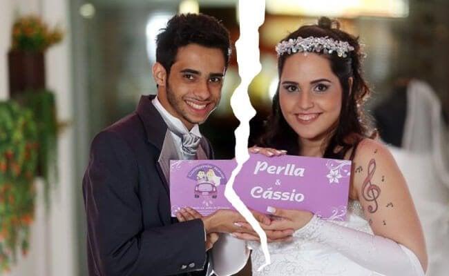 Casamento de Perlla termina