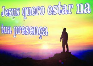 Jesus em tua presença