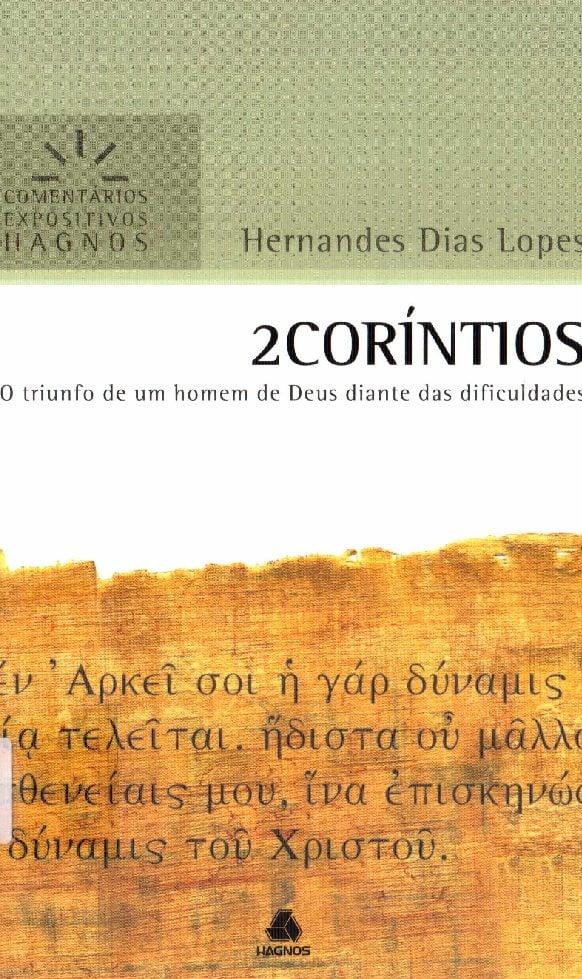 estudo bíblico 2 corintios