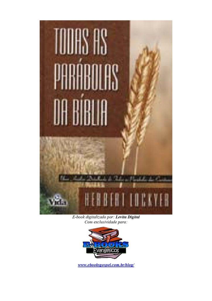 Todas as parábolas bíblicas