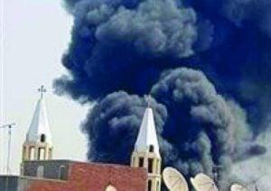 Três igrejas queimadas no Egito
