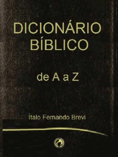 Dicionário Para Estudo Bíblico