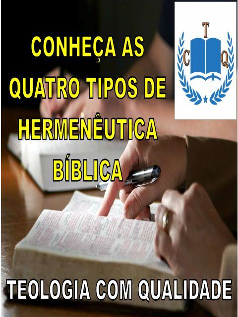 Tipos de Hermenêutica Bíblica