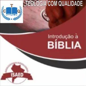 curso de introdução bíblica