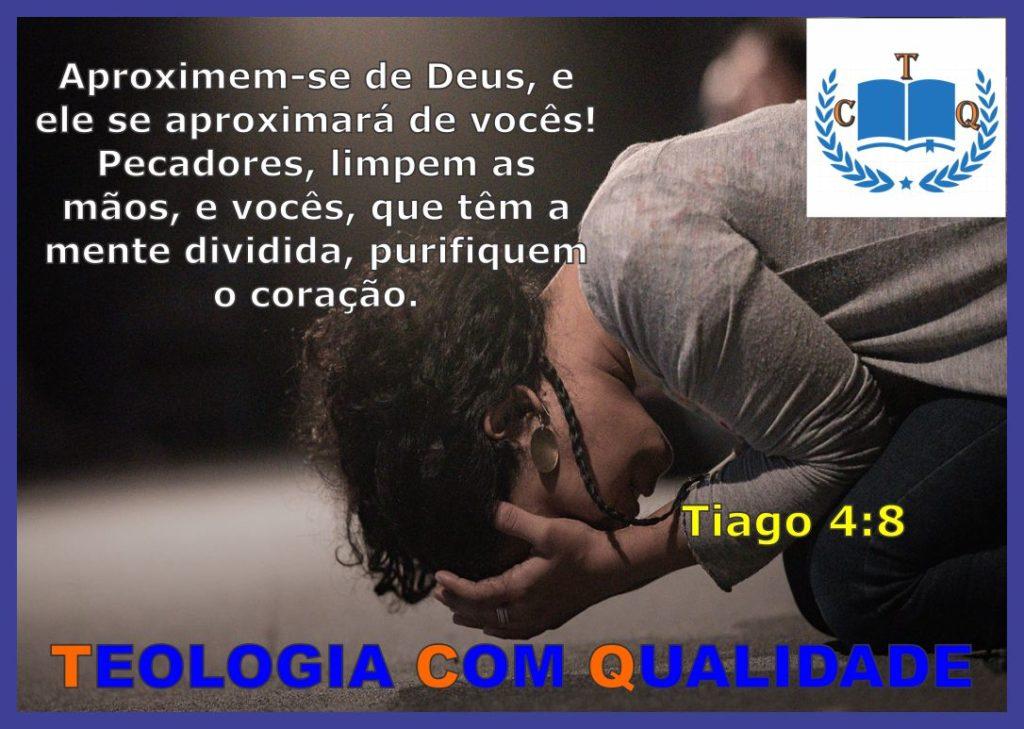 Versículo bíblico Tiago 4:8 NVI