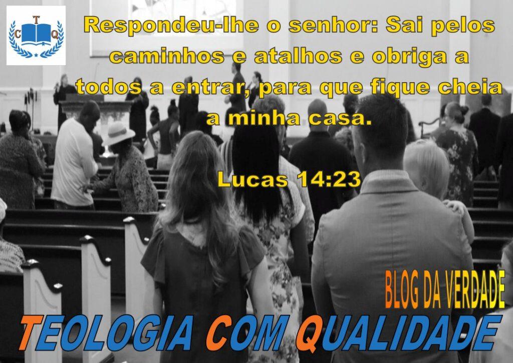 versículos bíblicos Lucas 14:23