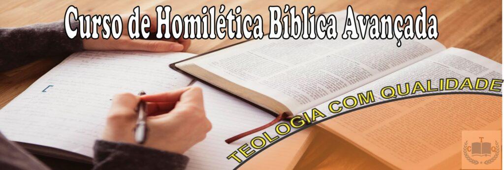 homilética bíblica avançada