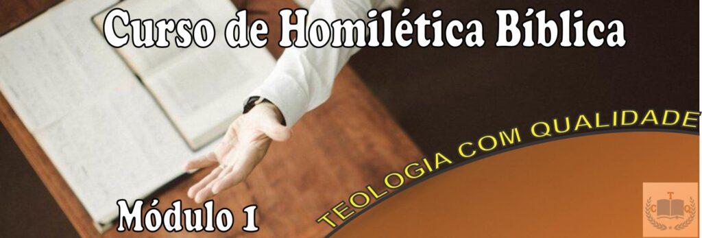 homilética bíblica módulo 1