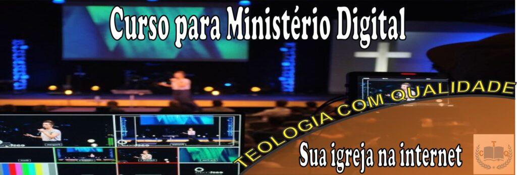 curso pastoral - Ministério digital